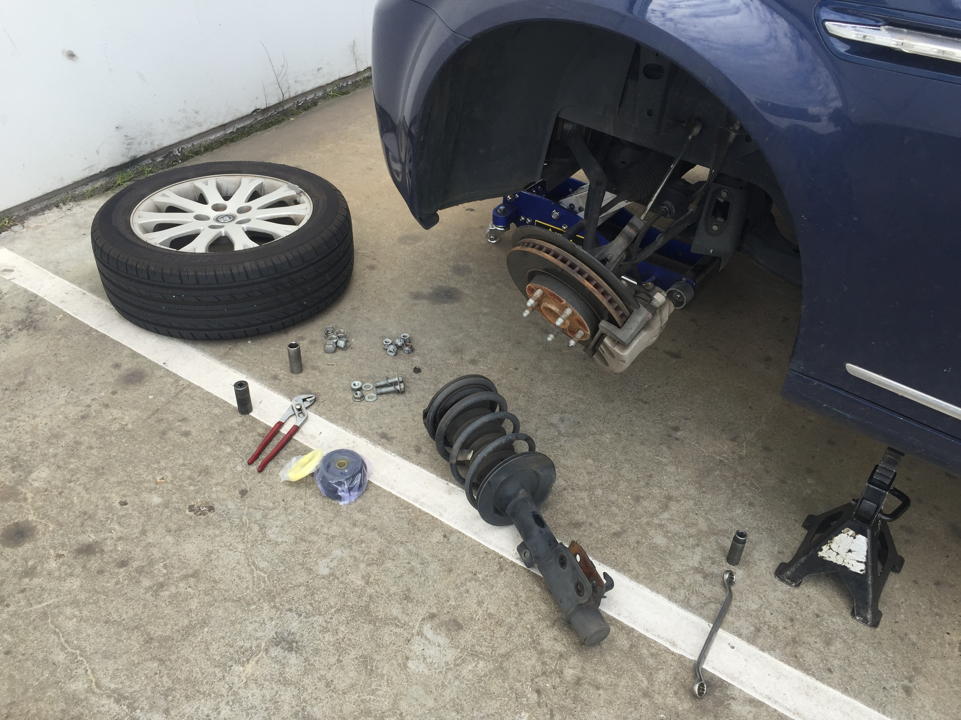 MOBILE SUSPENSION REPLACEMENT